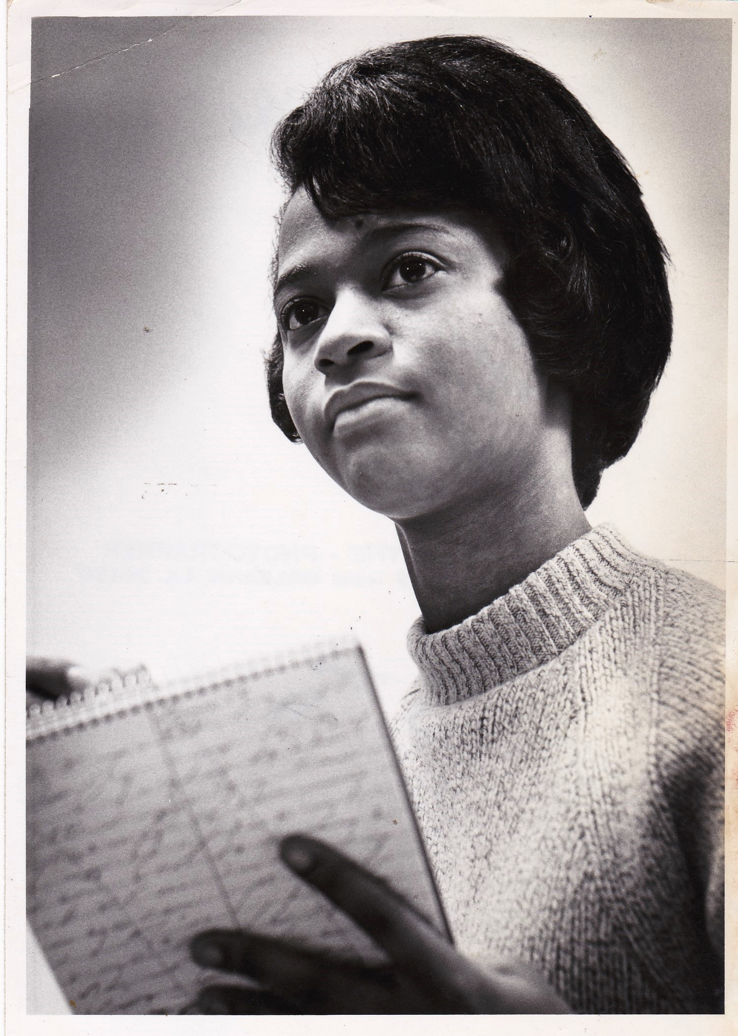 Cheryl Tyler at the Adult Education Center, 1966