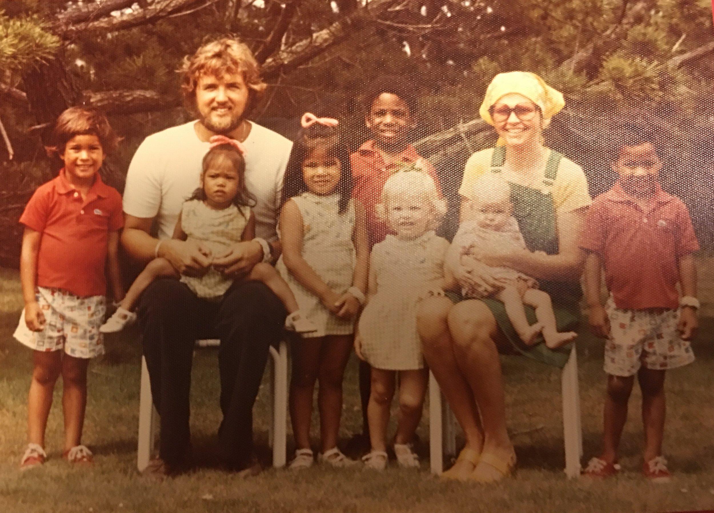 circa 1976 - I'm the baby