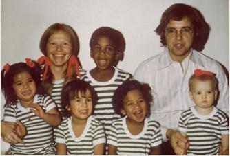 5 ~ circa 1975 Kari, Jens, Tage, Peik, Anika