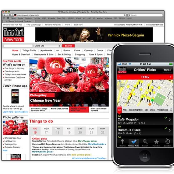 Tony Website and App