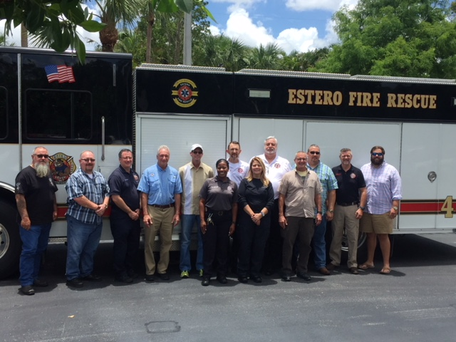 1st Essentials of Fire Chaplaincy Class- May 2018 Estero FD