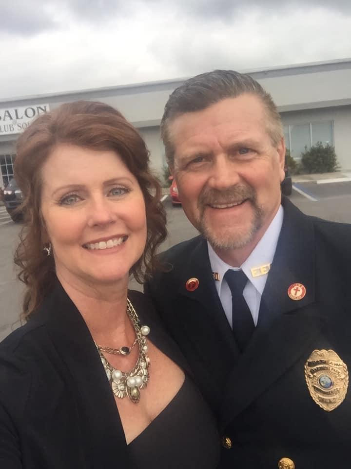 Mark & Donnitta at AFL-CIO Ball 2019