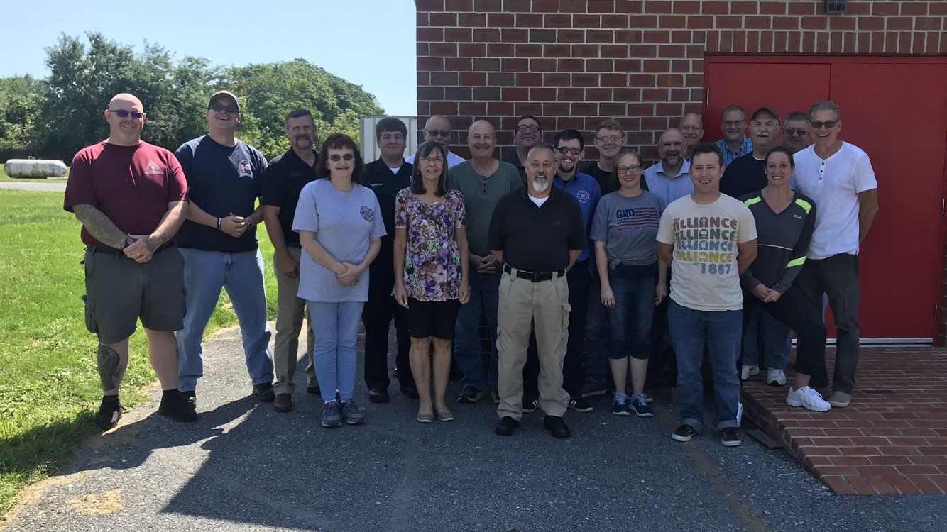 Lebanon County, PA Essentials of Fire Chaplaincy class 8-2019