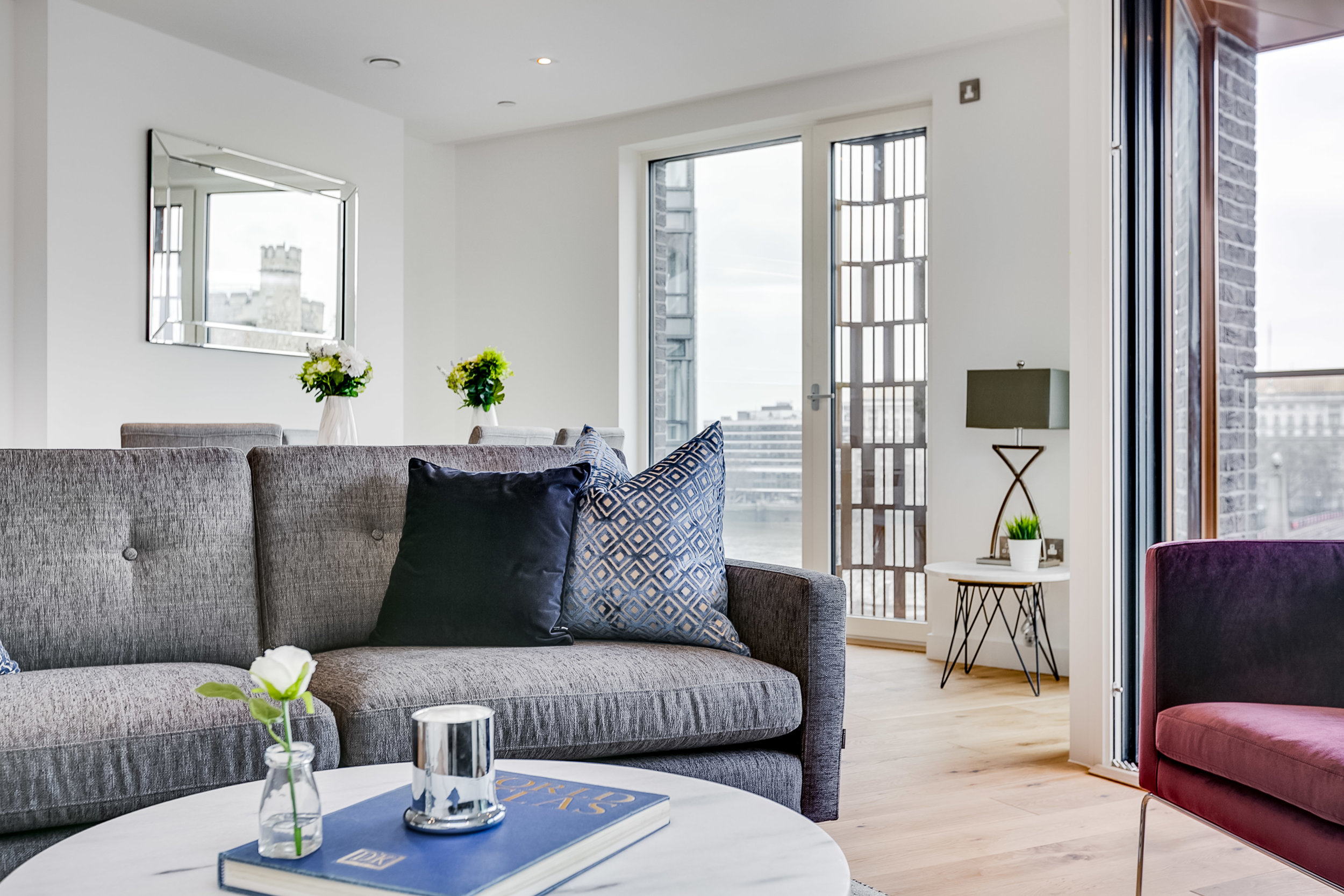 - The Portland Range presents a contemporary and cost effective solution for the buy to let investor. This range is aimed at properties with mid-range rental value. Our designer select certain pieces that will maintain a stylish look for today's competitive rental market.Our Portland Range is perfectly suited for smaller rental apartments, with each product being carefully chosen to increase the potential of your property.The range is available in a choice of colour schemes, giving each property unique character.