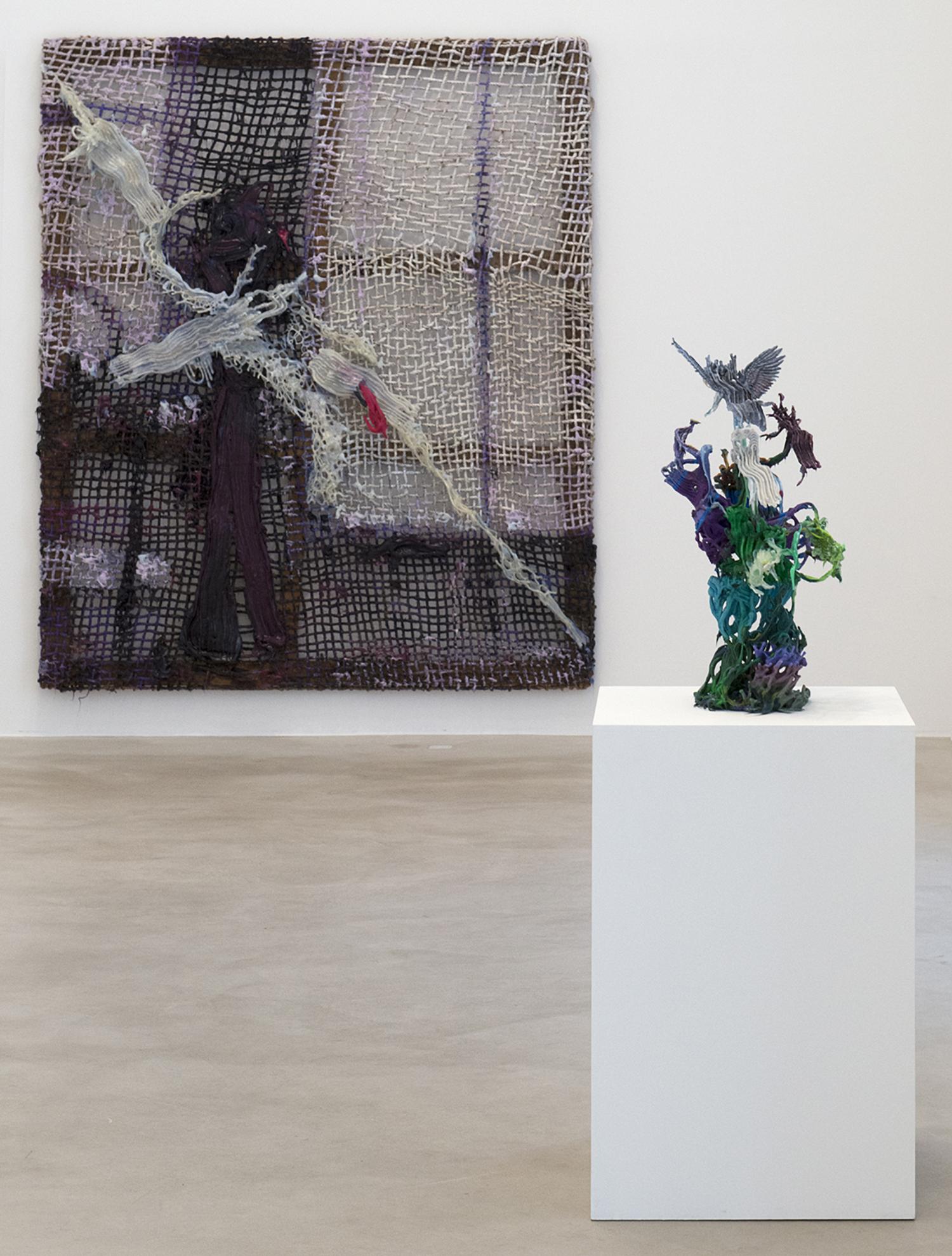 """Fabian Marcaccio: Engineered Paintants,"" Makasiini Contemporary, Turku, Finland 2017"