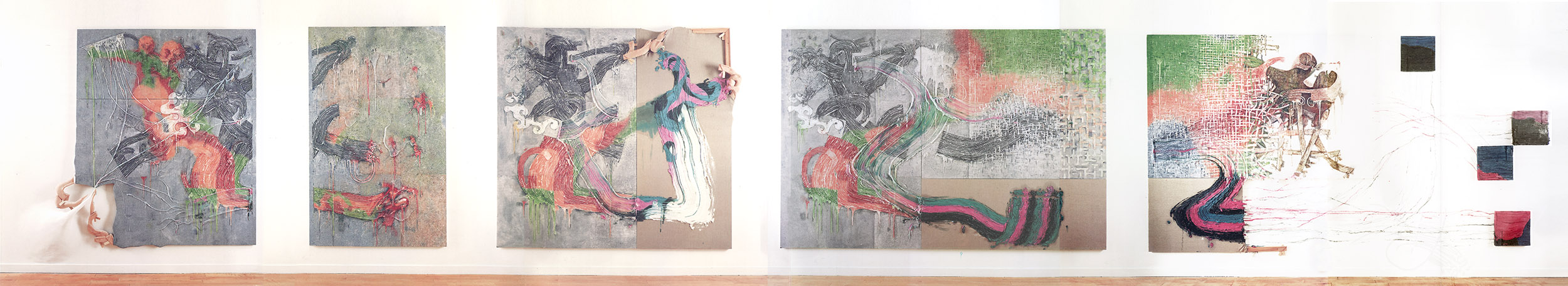 Altered Genetics of Painting (all), 1992-1993