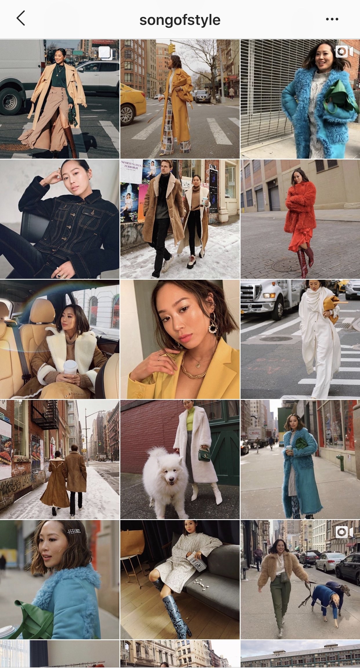 Aimee Song - No one pulls off comfort chic like she does!