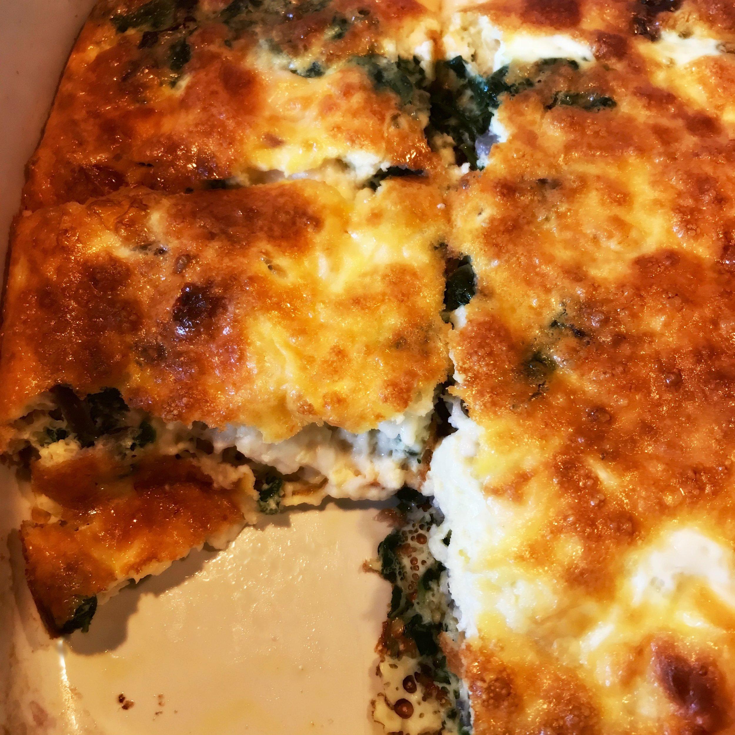 Egg Bake à la Curds