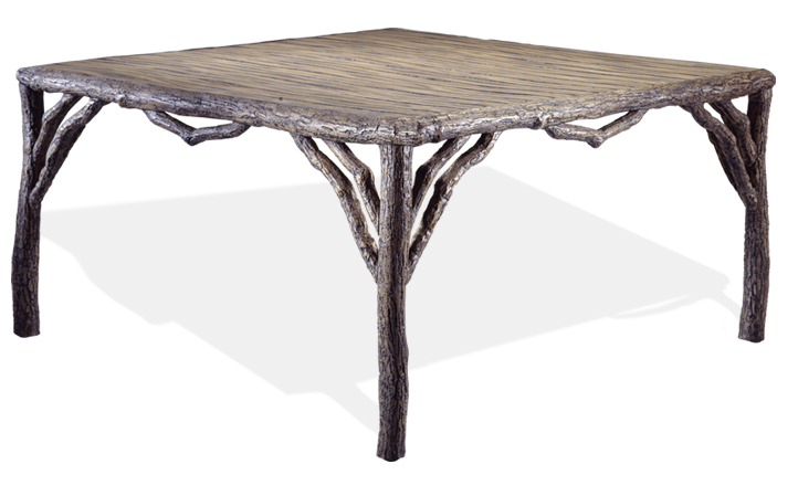 Rustic Oak Square Dining Table.jpg