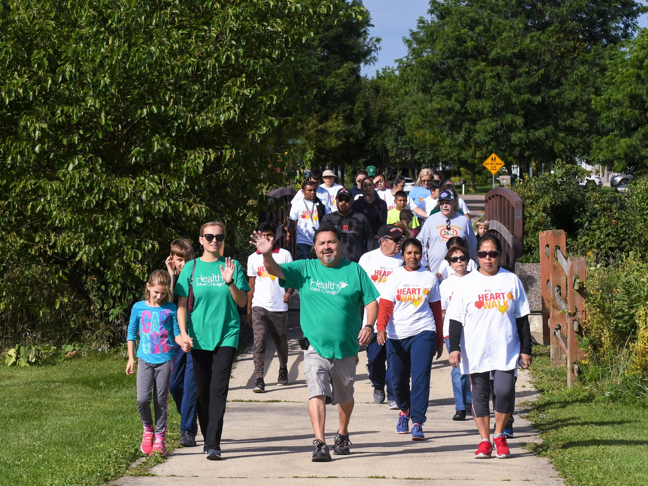 Move with the Mayor walk 2019