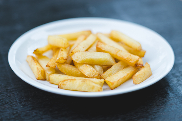 Crispy potato fries -
