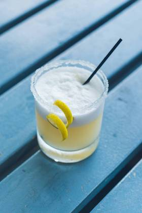 Perfect whiskey sour - Dating back to the 1870s, whiskey sour is a shaken mix of whiskey, lemon juice and simple syrup. Bartenders have long sung its praises, and you'll see why when you taste it