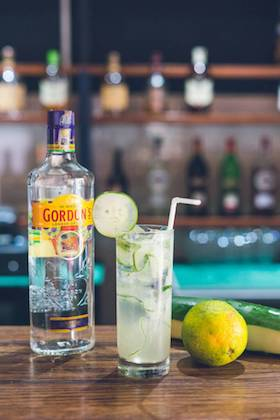 Collins - Gin, lemon juice, simple syrup, soda