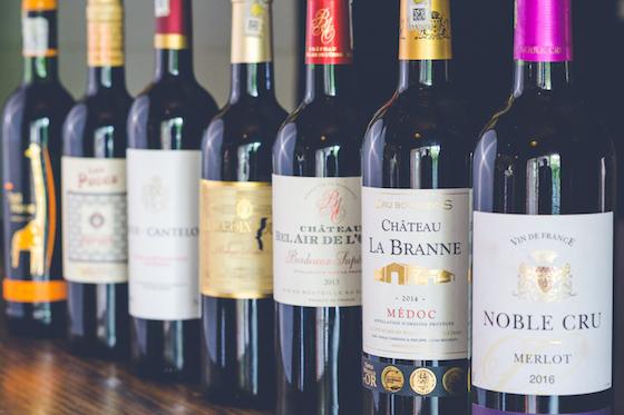 Red Wine - Bottle / Bouteille BordeauxGrenache  Medoc Haut Medoc  Merlot