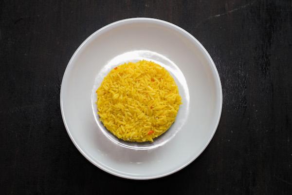 Fried rice or sauteed baby potatoes -