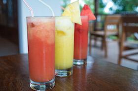 Freshly Squeezed Fruit Juices - OrangePineappleWatermelon