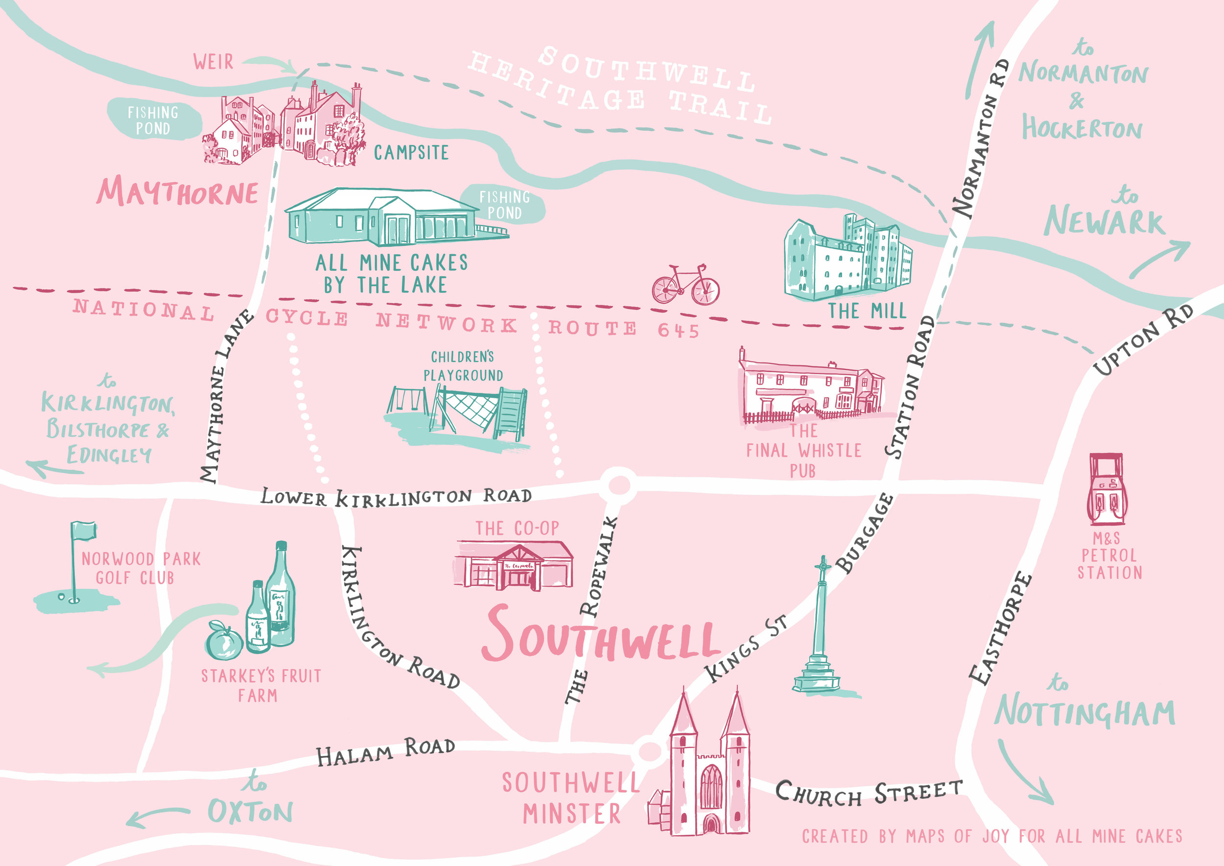 walks and trails in Southwell