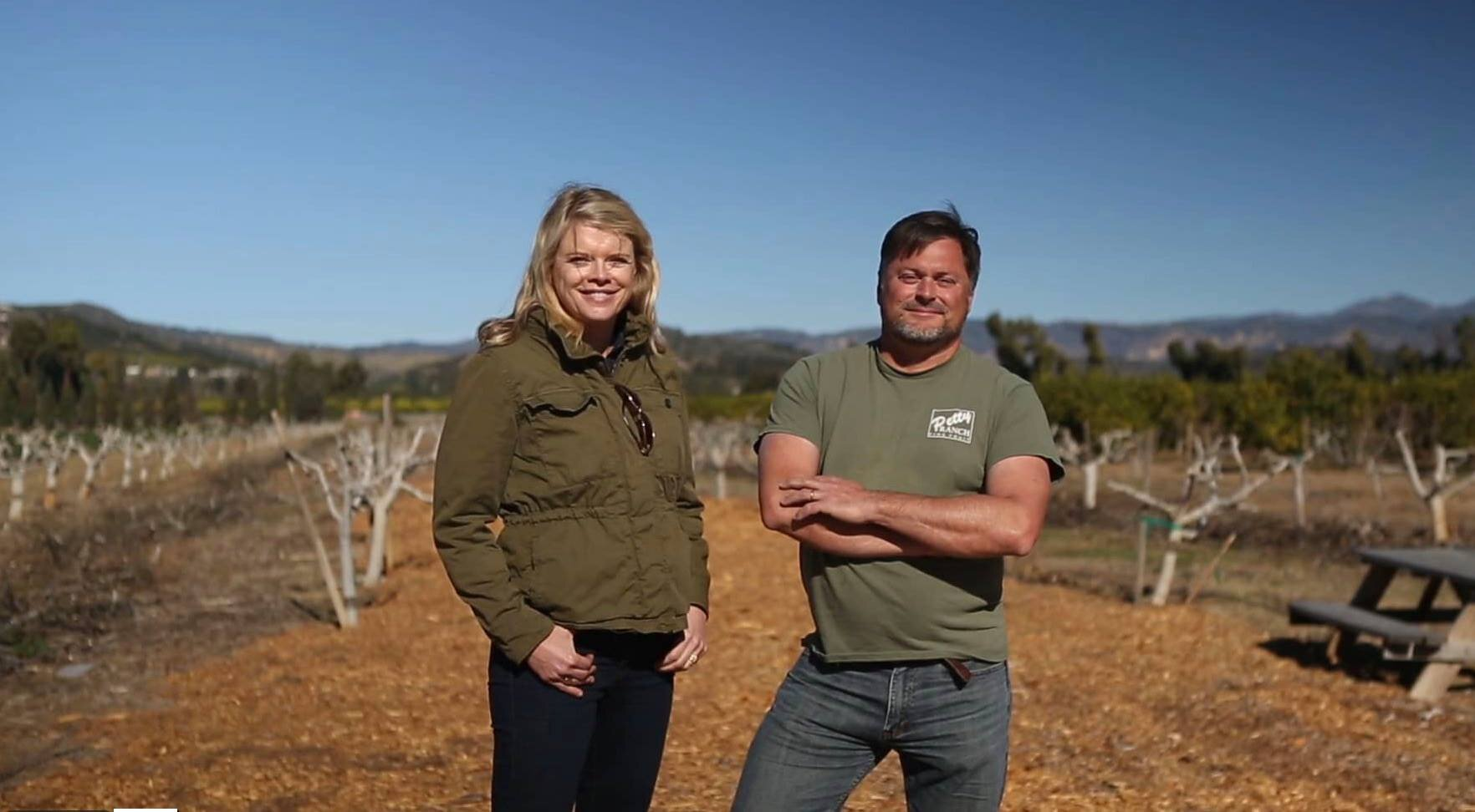 Chris Sayer and Mary Maranville at Petty Ranch.jpg