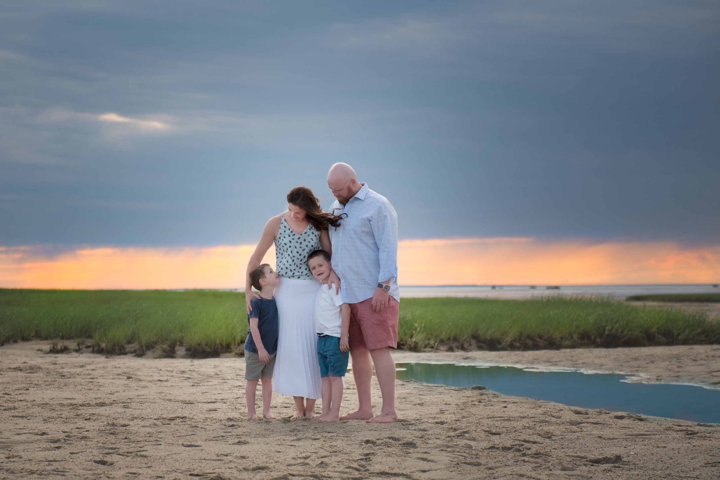 Cape Cod Flats Photography Session