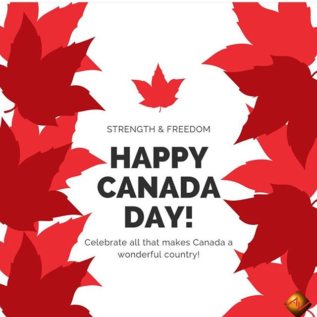 Happy Canada Day!  #yegsmallbusiness #avworksyeg #proudcanadian #smarthome #homeautomation #canadaday #july #summer #truenorthstrongandfree