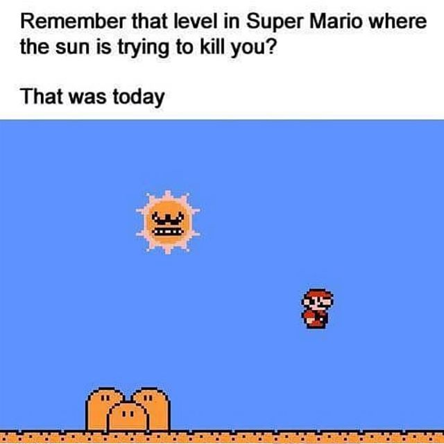 Stay cool folks!! #supermario #sunshine #heatwave #yeglife #yegsmallbusiness #avworksyeg #smarthome #homeautomation