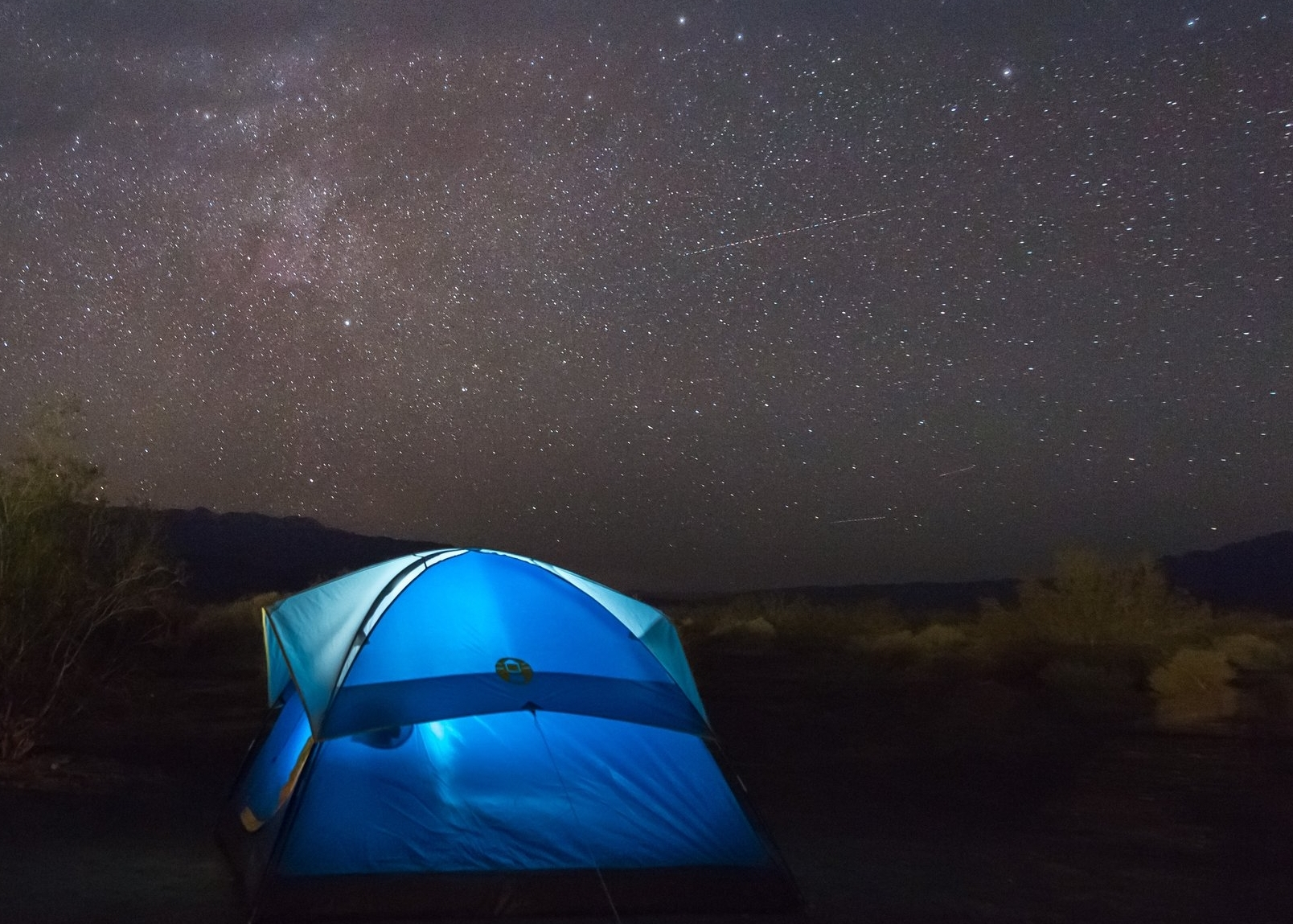 ROUGHIN' IT?WHERE TO CAMP -