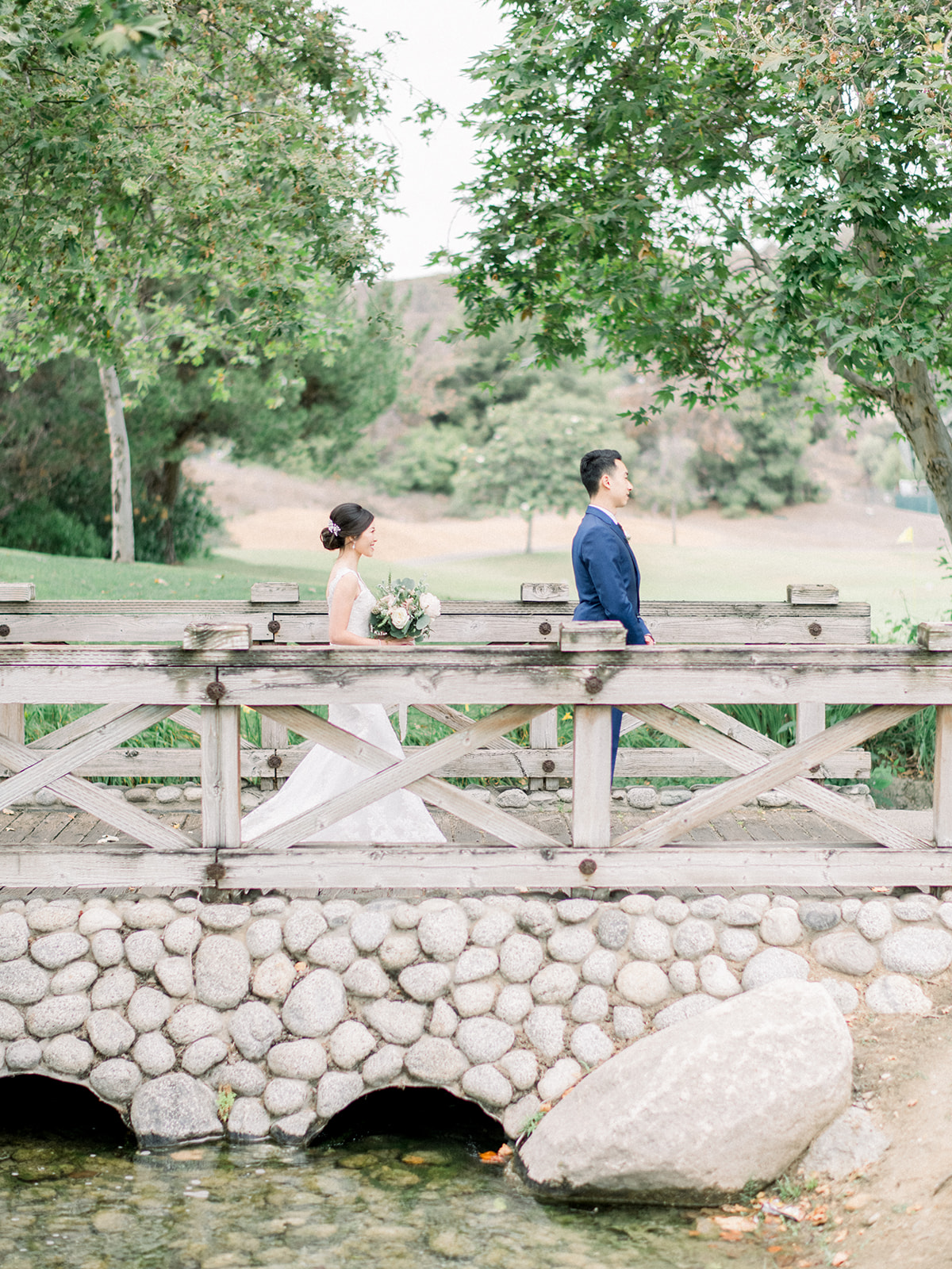 Blissfully Styled Events Orange County Wedding Planner Bride and Groom First Look