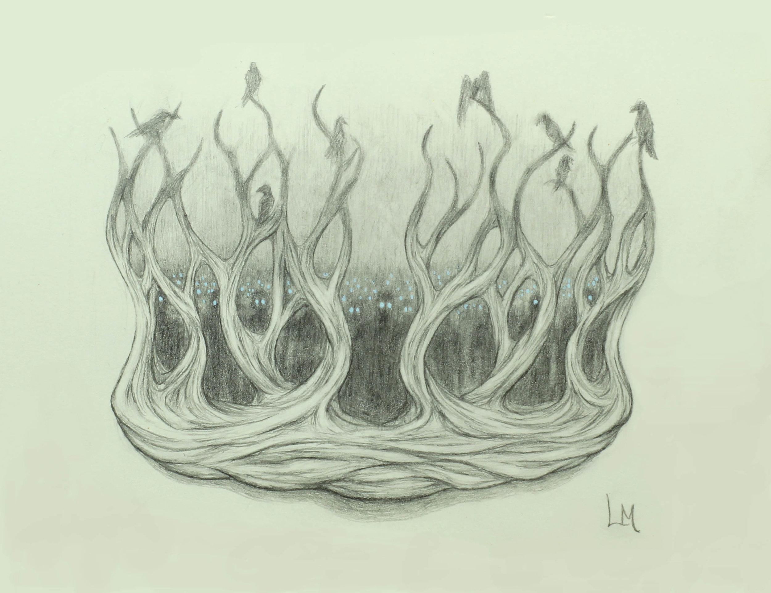 The Crown (Idea Sketch)