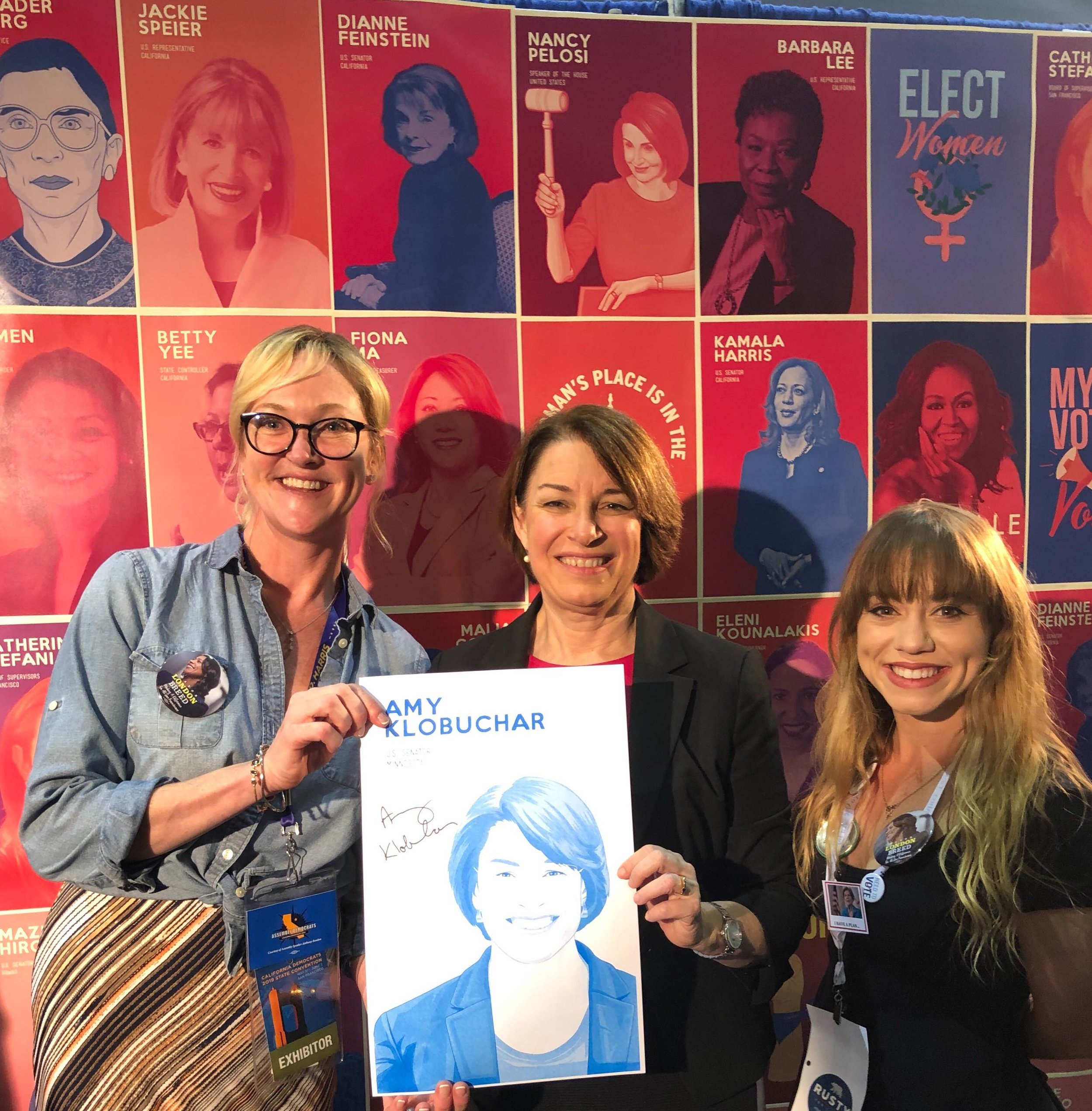 RTBiQrew with 2020 Presidential Candidate Amy Klobuchar