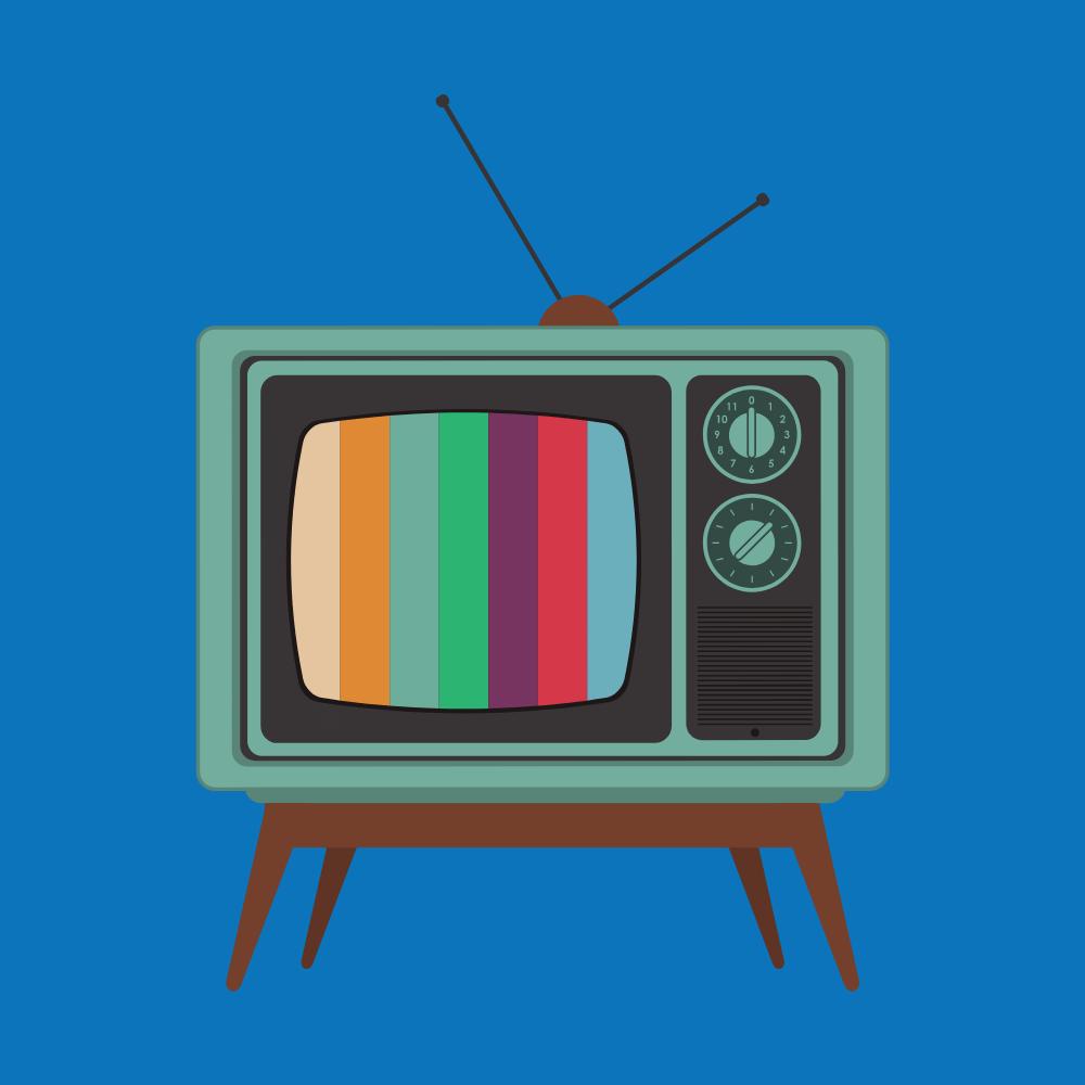 analog tv graphic