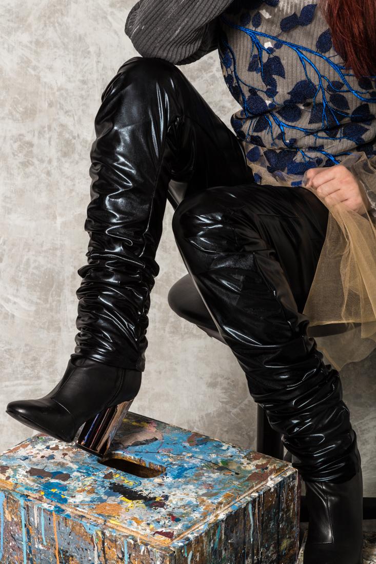 Ali Leather Pants _ detail of ruching.jpg