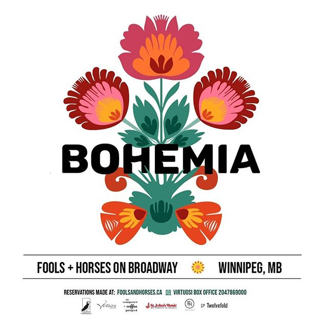 We are thrilled to be partnering with @fhcoffee_ on Bohemia, a free concert featuring six extremely talented musicians. This project is the brainchild of The Composer + Coffee Project, an initiative that aims to bring classical music into unconventional spaces, ones that promote inclusivity and accessibility. •°•°•°•°•°•°•° There will be two concerts altogether, the first of which is free, and the second of which will include a grand piano, @madelinehildebrand and @sarahjokirsch along with an extremely affordable ticket price 💕 •°•°•°•°•°•°•° The free concert will be hosted on Friday, May 17th at 8 pm at Fools + Horses Coffee Company, featuring a string quartet with Jeremy Buzash (violin), Chris Ansty (violin), Elise Lavallée (viola), and Minna Rose Chung (cello) 🎼 •°•°•°•°•°•°•° The second concert of this series will be hosted on Saturday, May 18th at 8 pm, and includes performances by Sarah Kirsch (soprano) and Madeline Hildebrand (piano). Tickets are $25 and include feature cocktail🍸 •°•°•°•°•°•°•° The concert series is made possible with the generous support of St John's Music, Fools + Horses, #Puffinfoundation, and @virtuosi.concerts 💐 •°•°•°•°•°•°•°•°•° These will be packed events so use the link in our bio to reserve your seats.