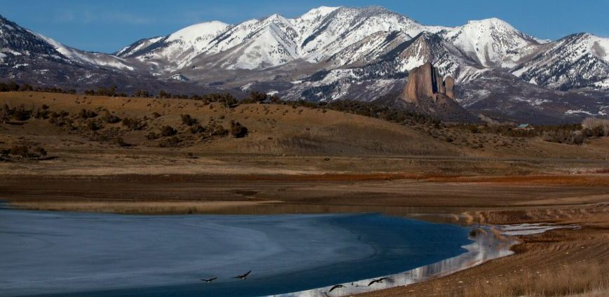 Crawford State Park.Photo courtesy Colorado Parks &Wildlife