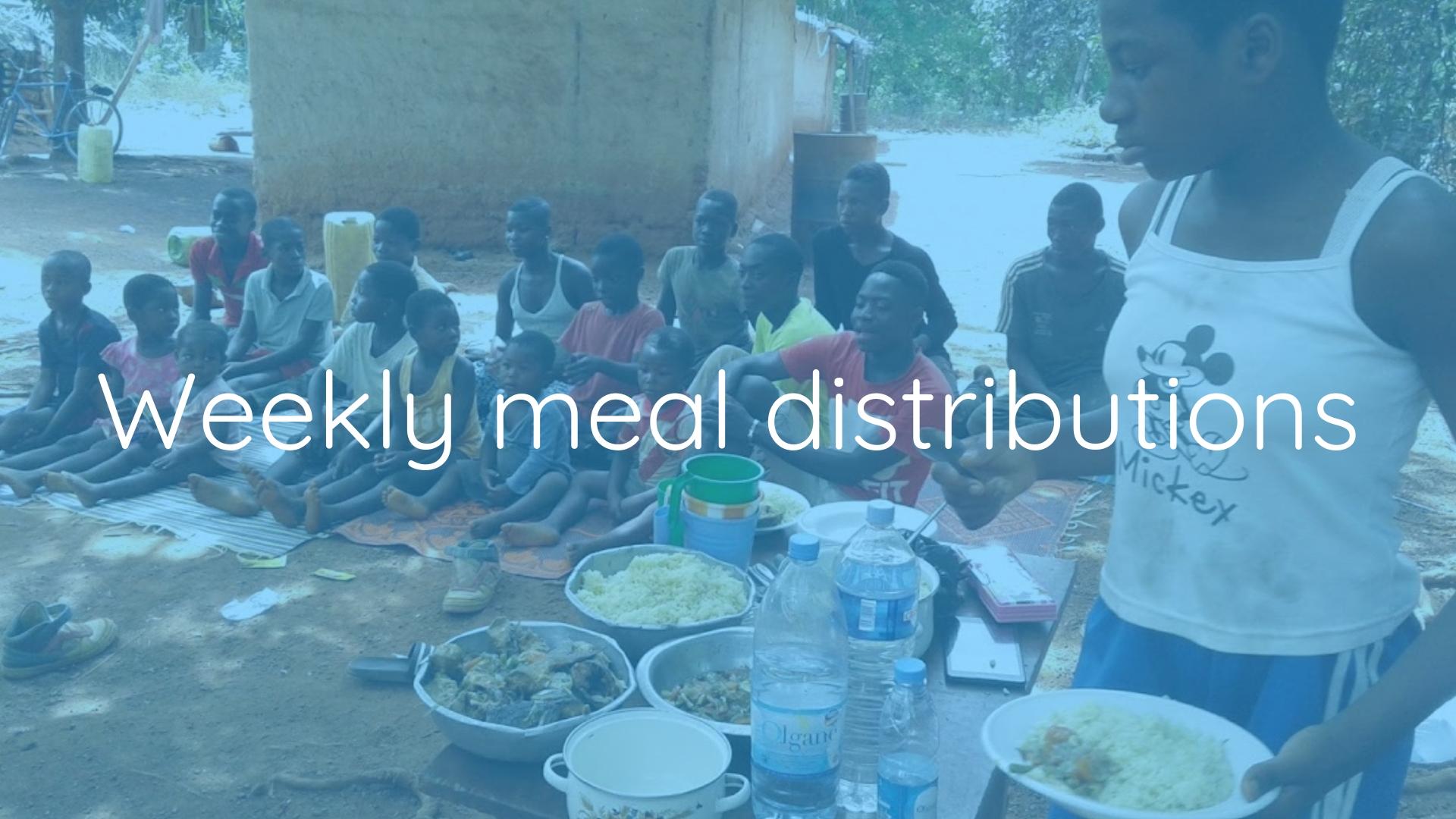 KSP Meal Distribution