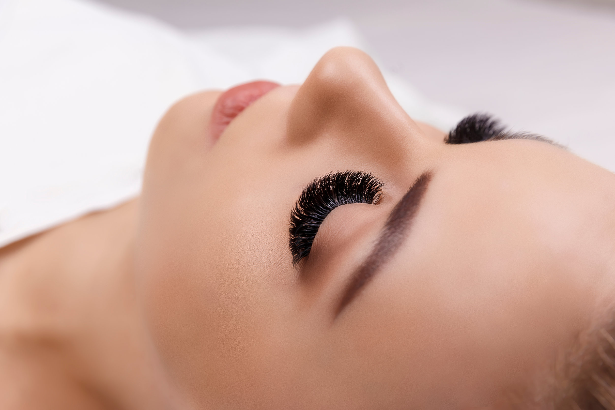 LASH EXTENSIONS - View our full lash menu to work out the style that will work best for you!