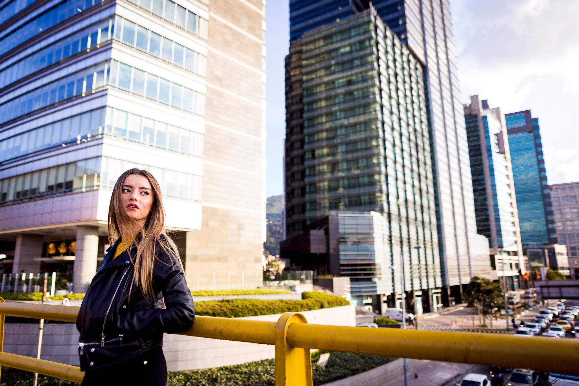 Sesion retrato fotografia ciudad foto mujer chica modelo moda