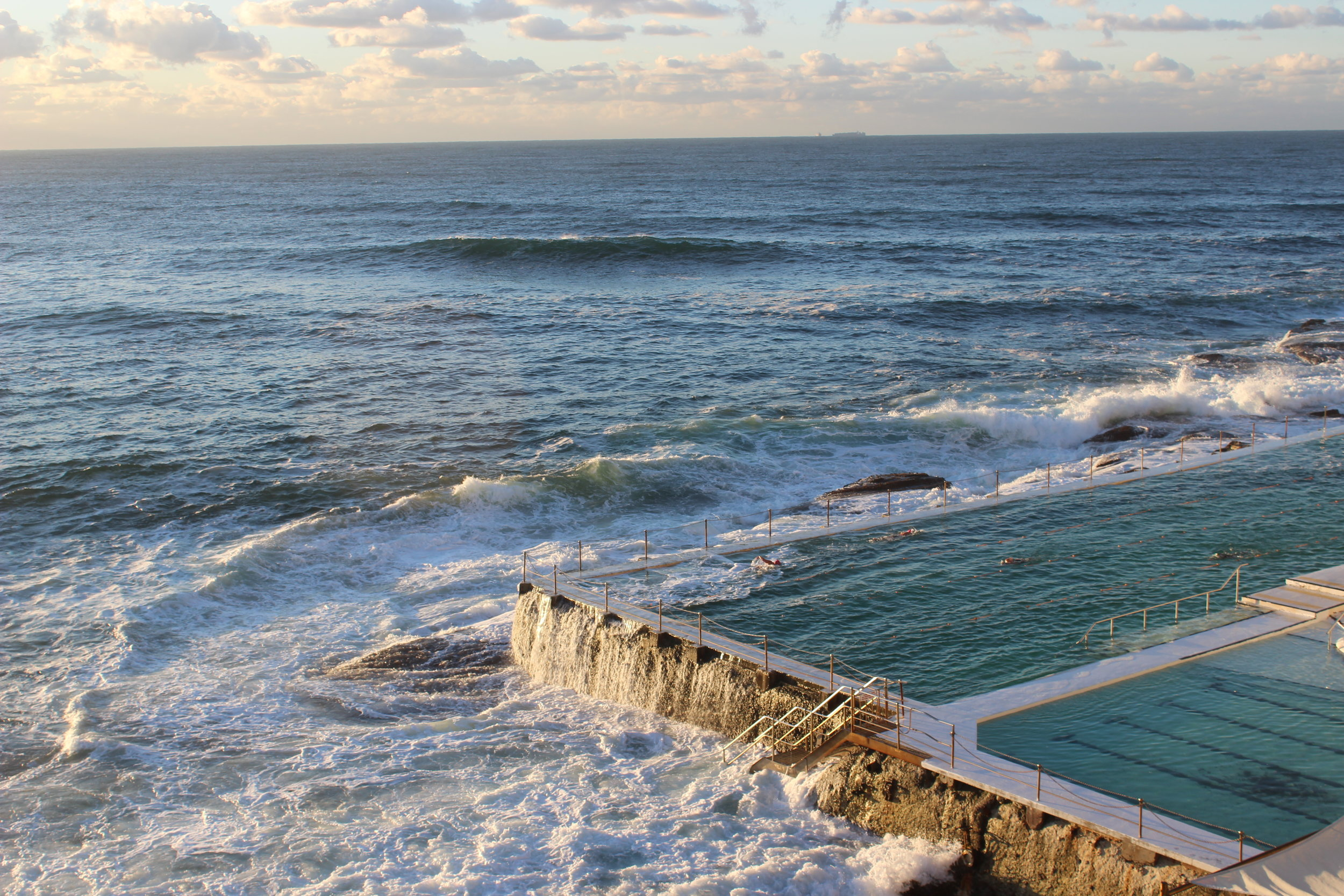 Bondi Beach Outdoor Rock Pool Icebergs