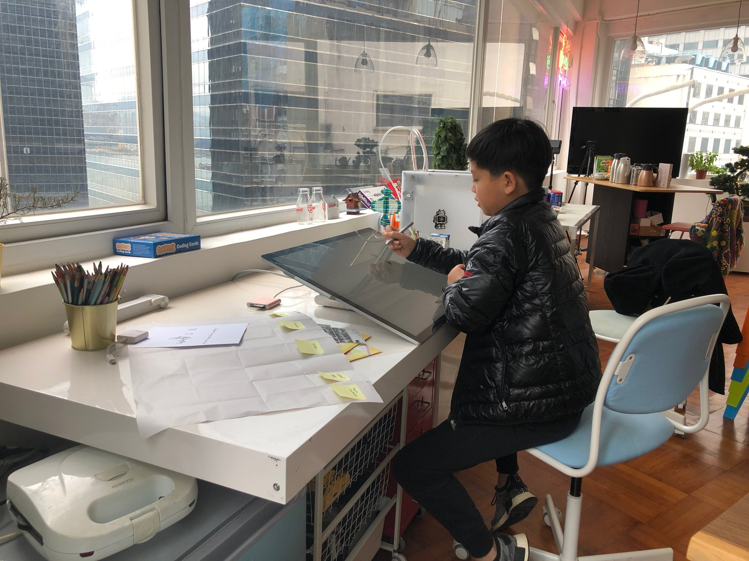 Go to Lifelong Labs, it is an awesome thing and you will like it - -11 year-old Aidan Yu, Dream Maker and Aspiring Ornithologist.
