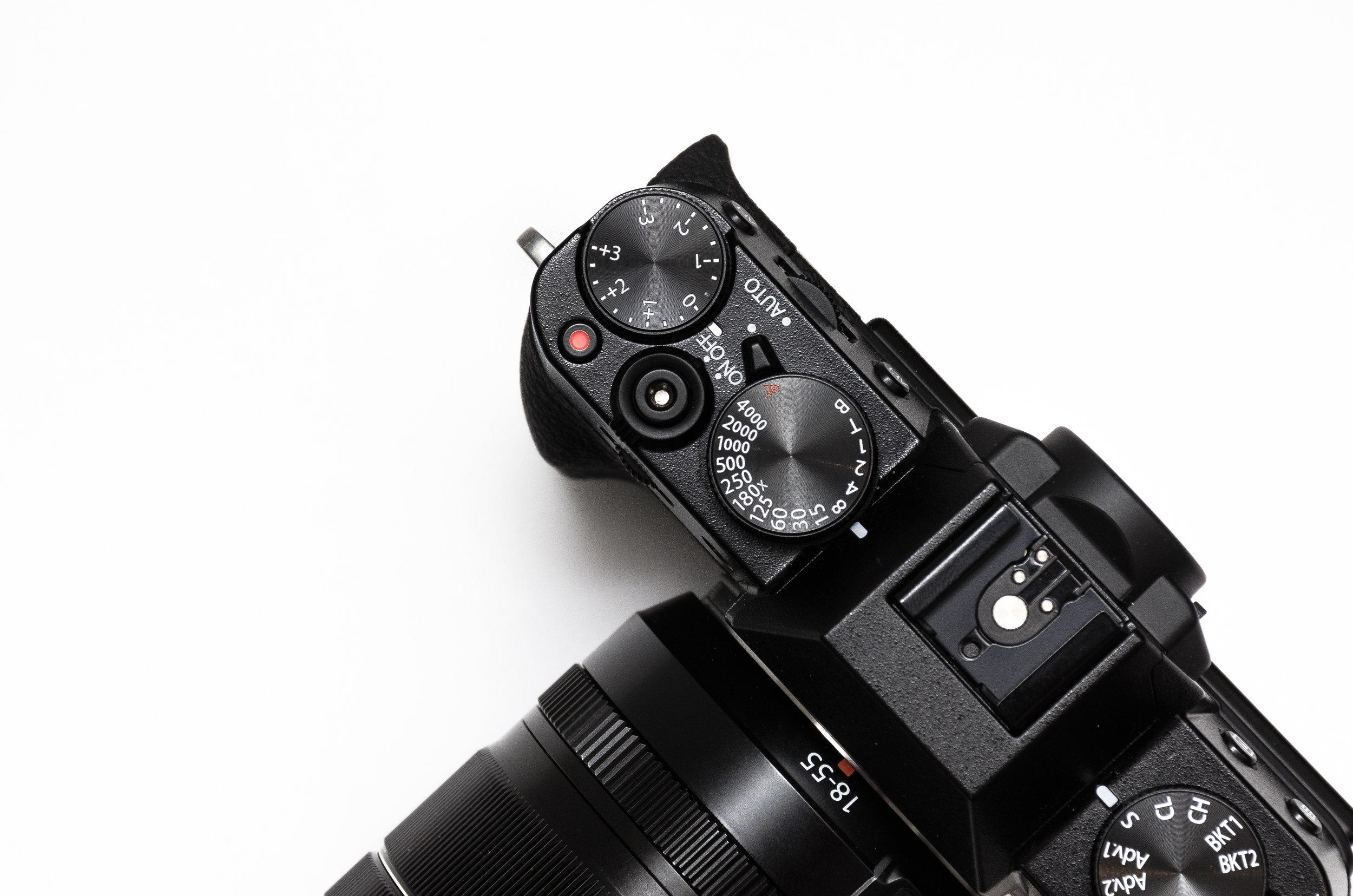 We use a Sony AX-53 4K Camcorder & Panasonic Lumix DMC-G7