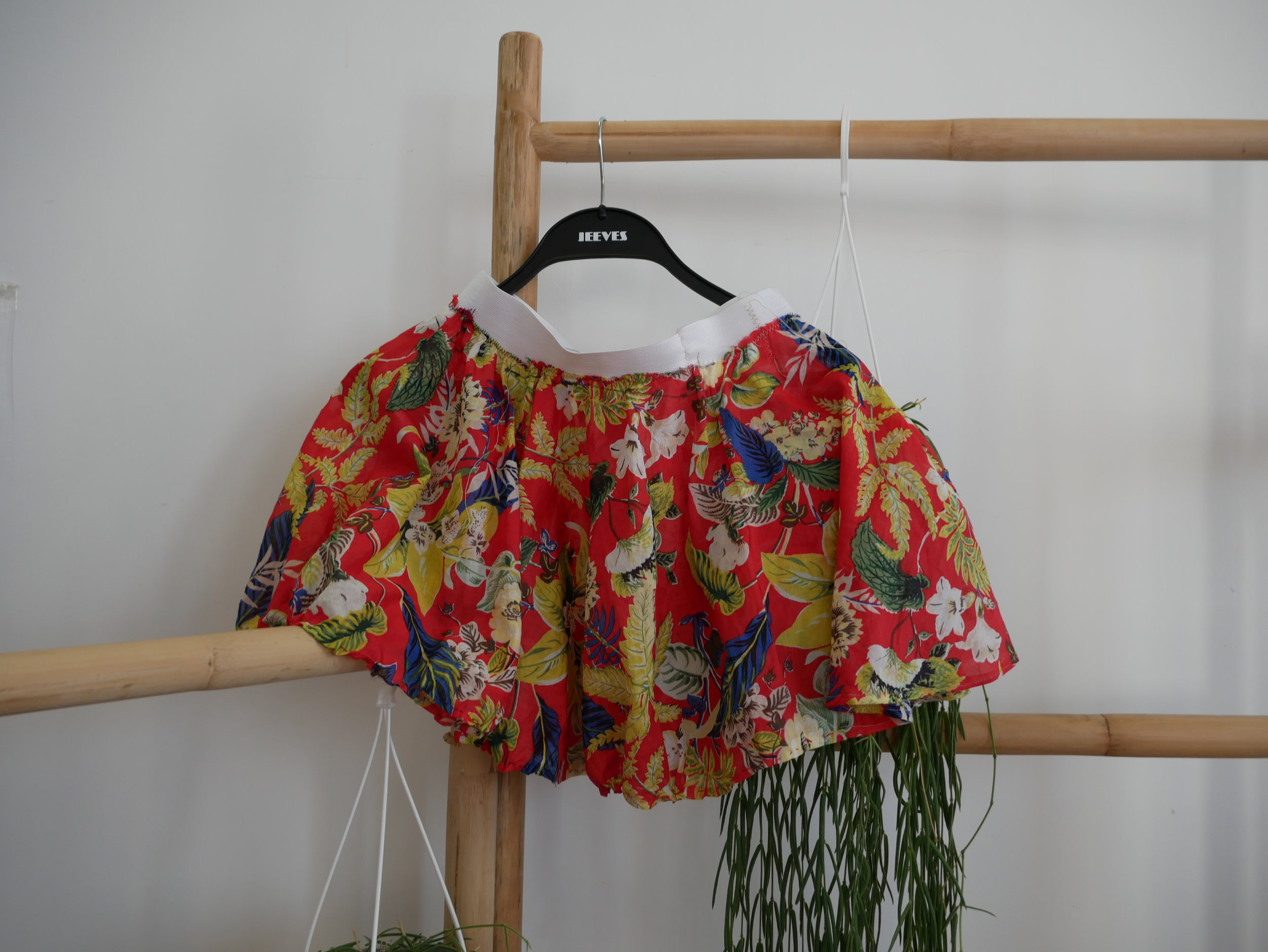 Floral Patterned Skirt  by Eliana Giancotti  HK$60,000