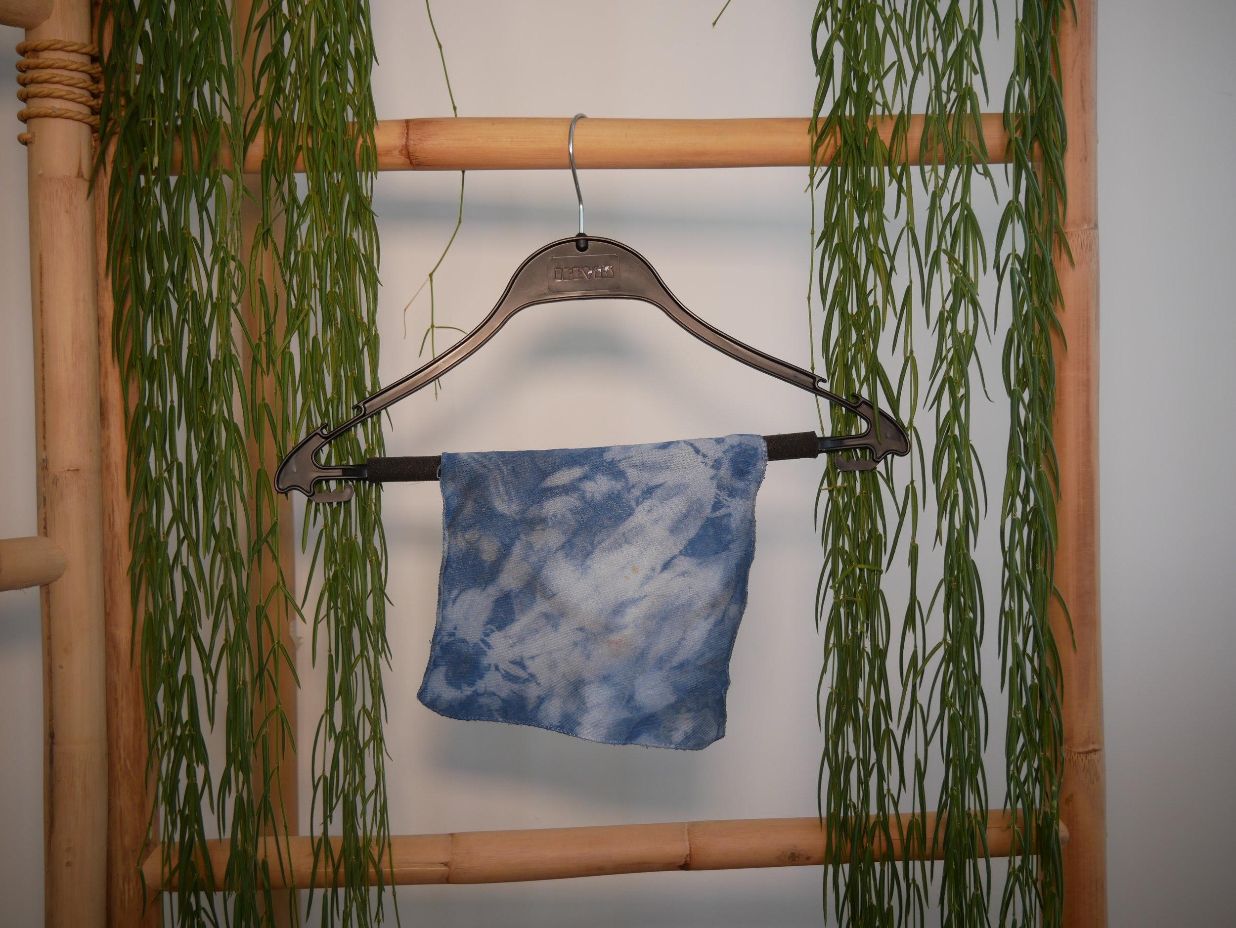 Shibori Indigo Dyed Towel  by Sheenie Lee  HK$99,999