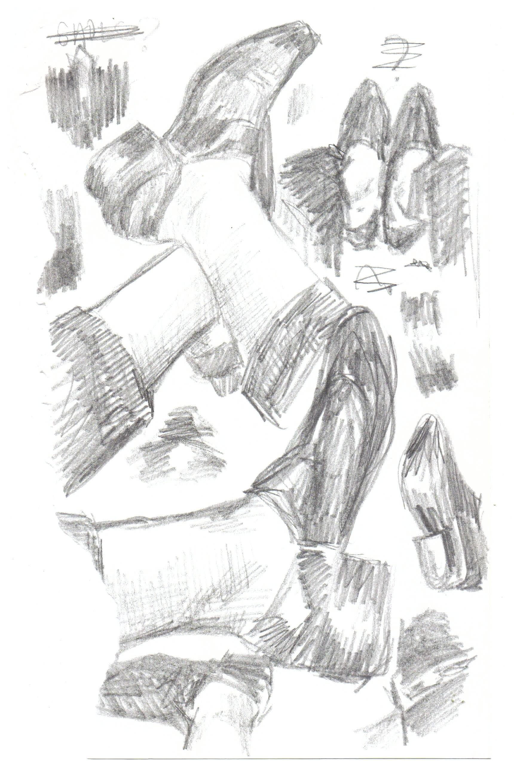 American Eagle,  2018. Pencil on Paper