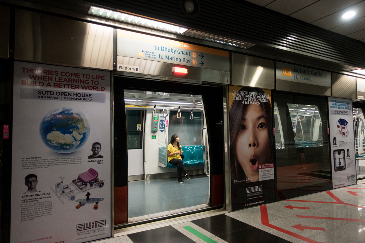 Jan 14, 2017 - Singapore. Tutik on the MRT, with her previous employer Tutik was not allowed to have a day off, and worked in two houses. Now back in Singapore and working for a new family she can take Sunday's off. © Nicolas Axelrod / Ruom