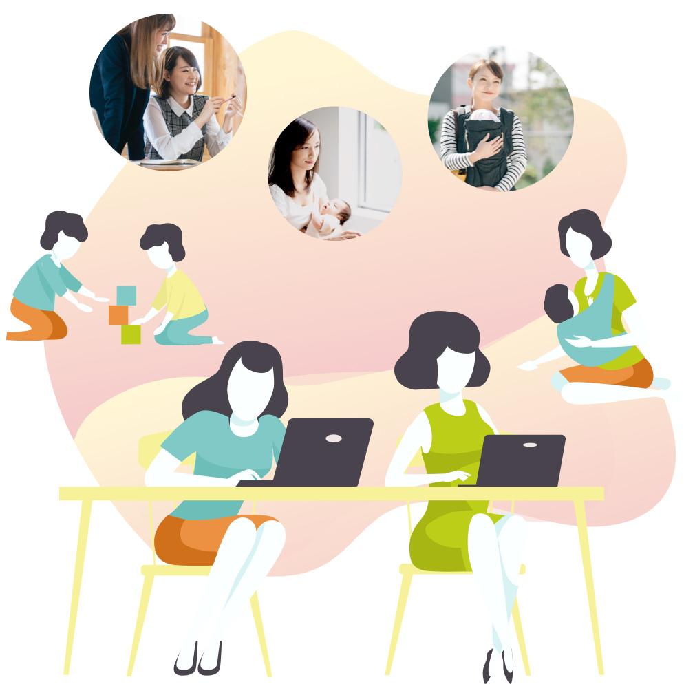子連れOKのママ専用スクール、1ヶ月でWebデザイナーを目指そう - 産休中のスキルアップや、キャリアアップのために、子連れOKのママ専用スクールに通おう