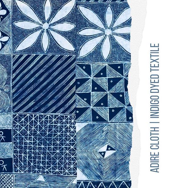 •Adire• Nigerian Indigo textile dying technique. ~~~~~~~~~~~~~~~~~~~~~~~~~~~ #nigeria #ethicalfashion #sustainablefashion #inspiration #artisan #indigo
