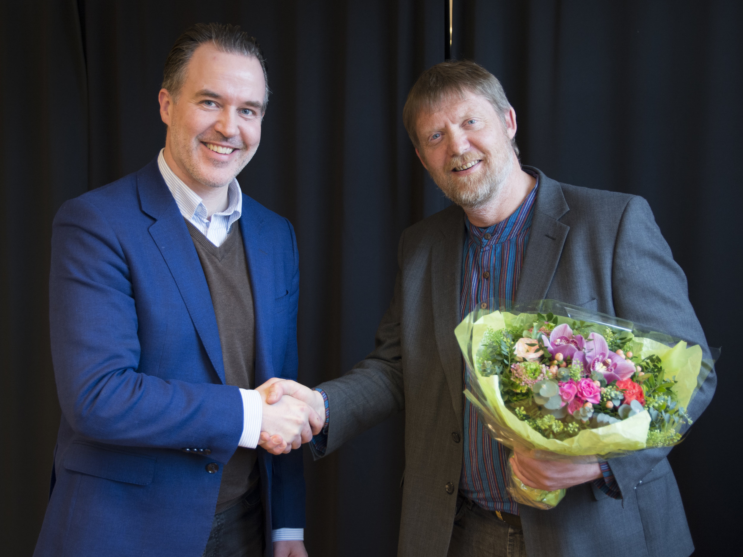 Fagpublikasjonsprisen 2017 ble utdelt til Per Åsmund Omholt