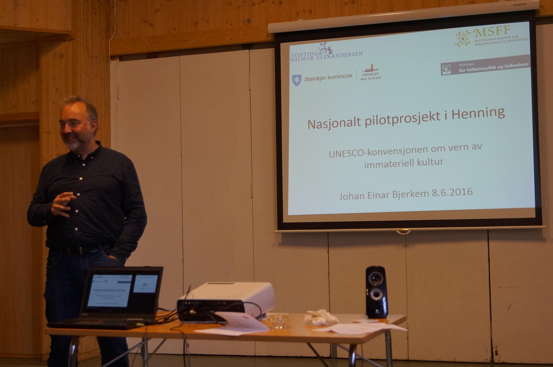 Presentasjon av immateriell kulturarv