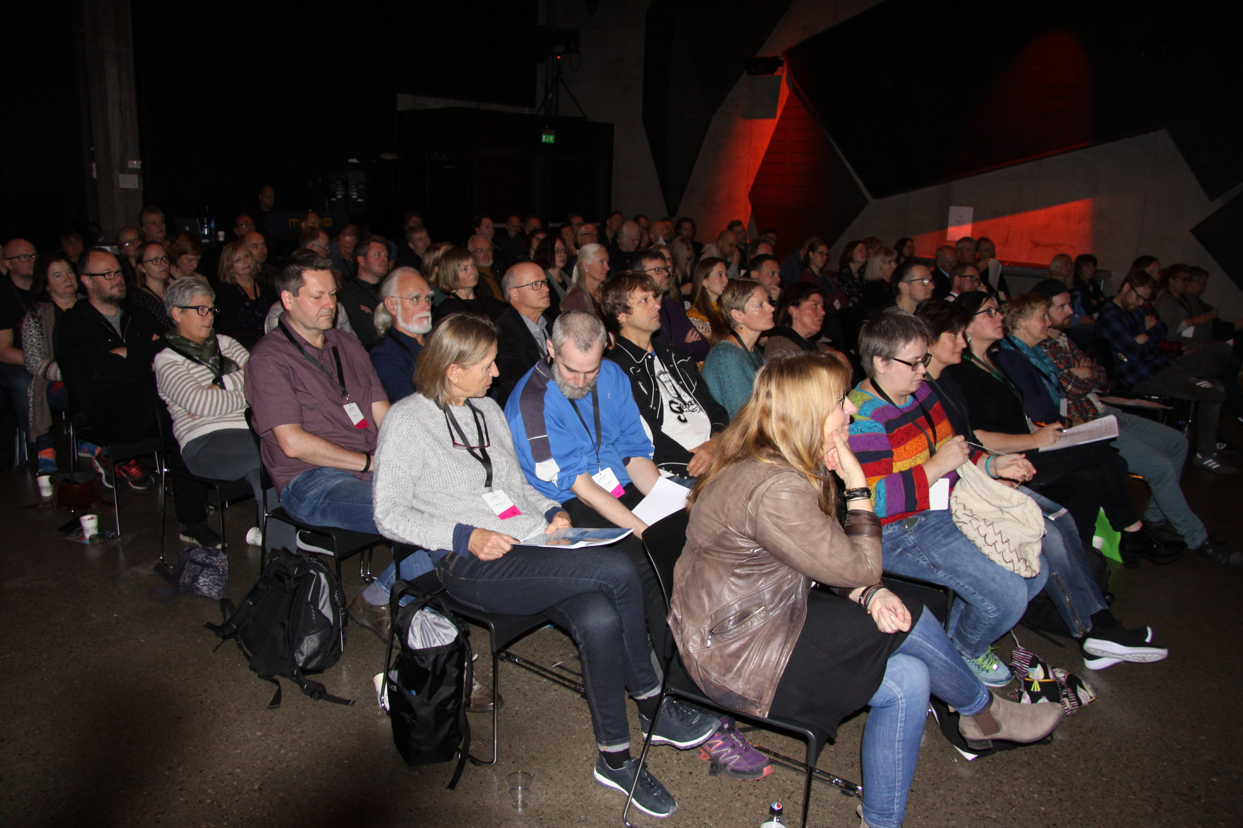Stor interesse for lydarkivkonferansen på Rockheim i oktober med 100 deltakere.
