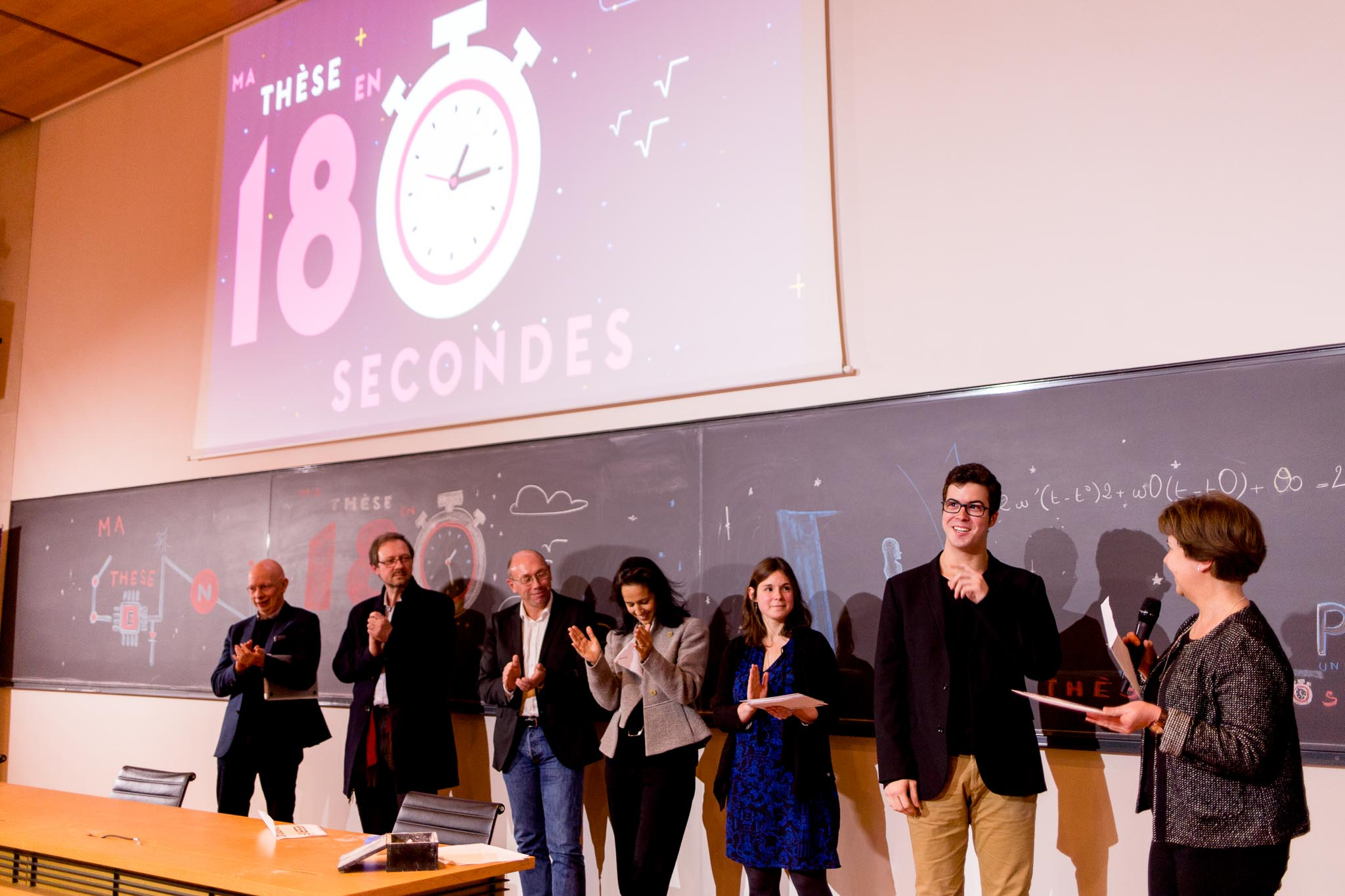 My thesis in 180 seconds  :  Collège de France