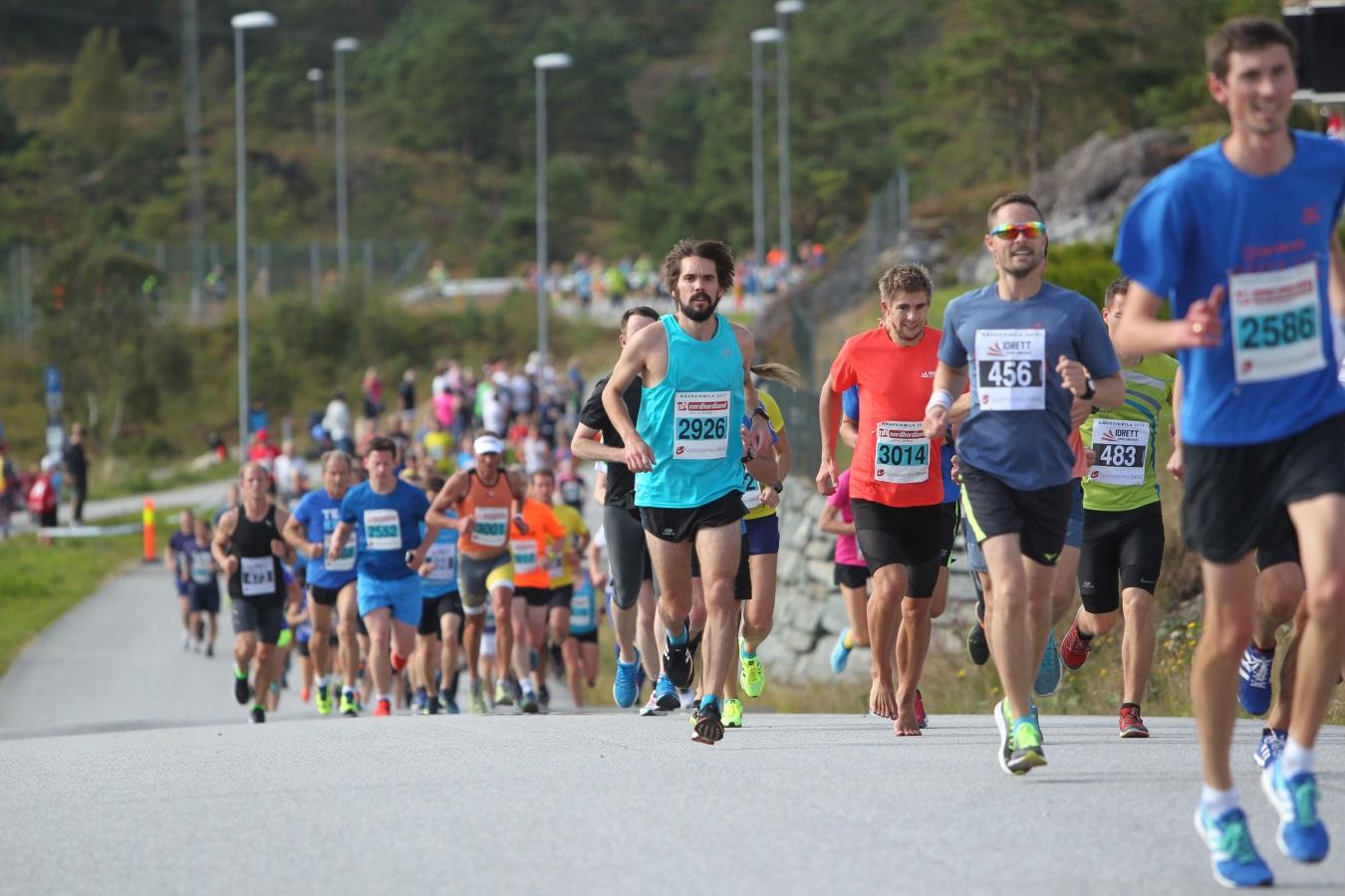 10k the classic race at Knarvikmila
